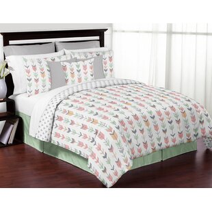 Mod Arrow Reversible Comforter Set