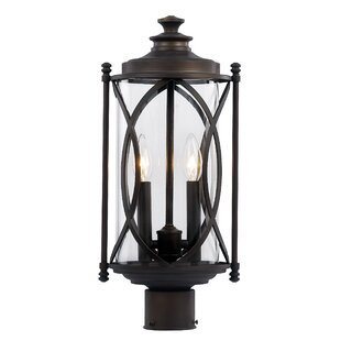 Ginsburg 2-Light Lantern Head by Bungalow Rose