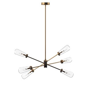 Byler 6-Light Cluster Pendant by Mercury Row