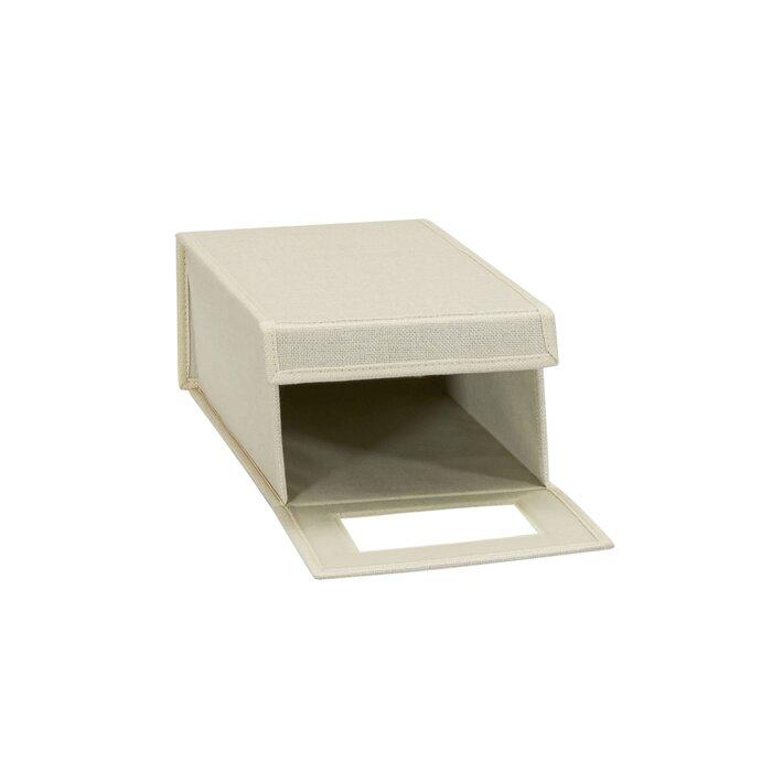 Admirable Vision Small Fabric Shoe Storage Box Customarchery Wood Chair Design Ideas Customarcherynet