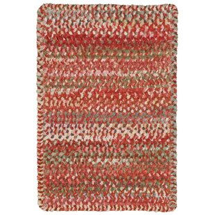 Savings Wilhelmine Cotton Beige/Green/White/Orange/Pink Area Rug By August Grove