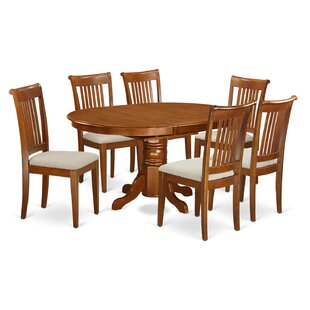 Spurling 7 Piece Extendable Dining Set by August Grove Discount