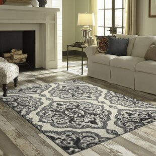 Hertel Gray Area Rug