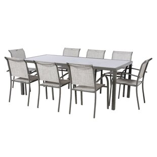 Antonioni 8 Seater Dining Set By Sol 72 Outdoor