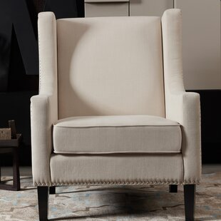 Read Reviews Adalyn Wingback Chair By Alcott Hill
