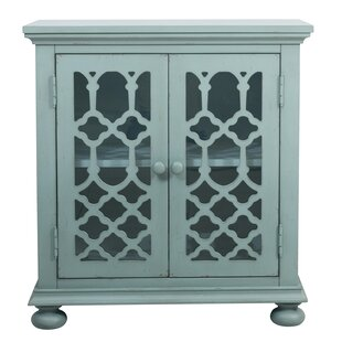 Mavis Lattice 2 Door Accent Cabinet by Ophelia & Co.