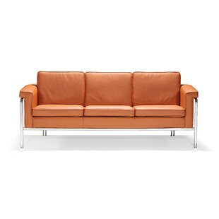 Nadine Leatherette Sofa by Zipcode Design