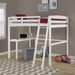 Mallika Loft Panel Bed with Desk by Mack amp Milo