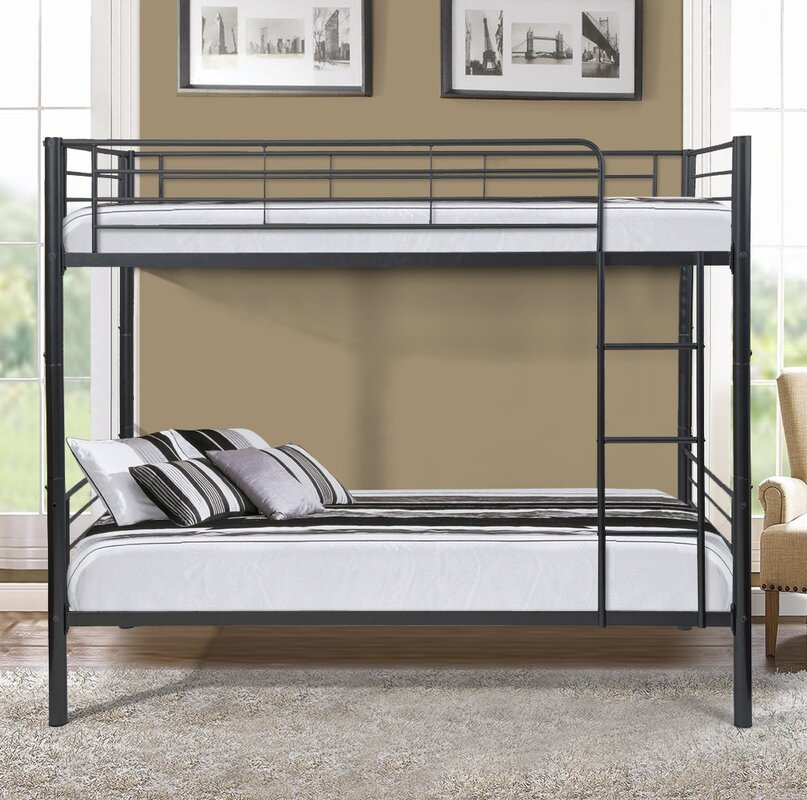 gloucester metal twin over twin bunk bed