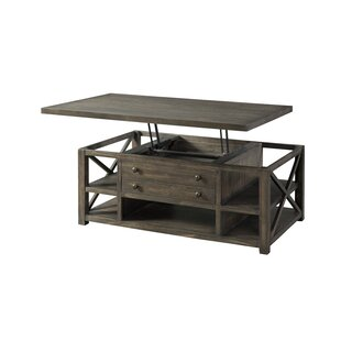 Melissa Lift Top Coffee Table with Storage by Loon Peak
