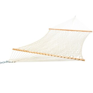 Hadleigh Deluxe Cotton Rope Tree Hammock by Freeport Park