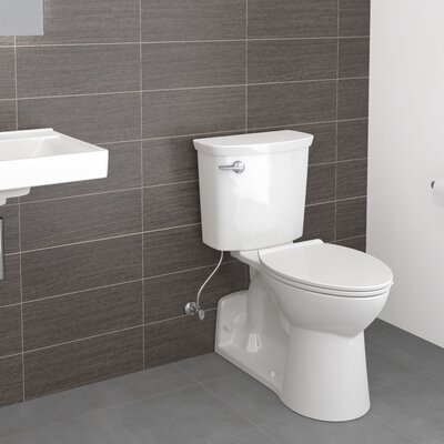 American Standard HET 1.28 GPF (Water Efficient) Elongated Wall-Mount Toilets (Seat Not Included)