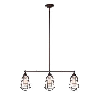 Compare & Buy Leda 3-Light Kitchen Island Pendant By Trent Austin Design