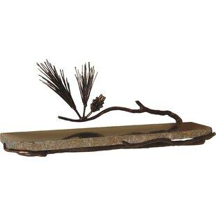 Quiescence Pine Wall Shelf