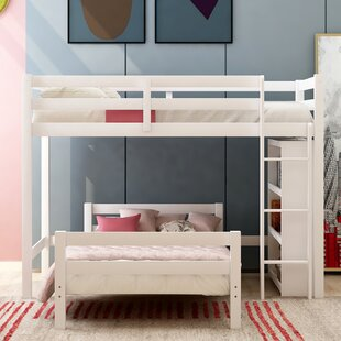 Pettengill Twin Over Twin Bed by Harriet Bee