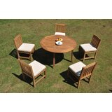 Caitlyn 6 Piece Teak Dining Set