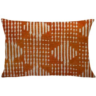 Octavius Mud Cloth Linen Lumbar Pillow
