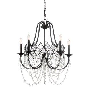 Cavallaro 5-Light Chandelier by House of Hampton