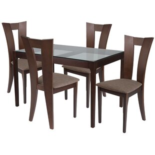 Ebern Designs Rafferty 5 Piece Dining Set