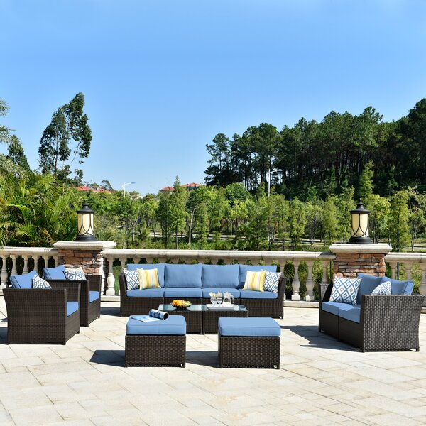 9 Piece Outdoor Furniture Wayfair