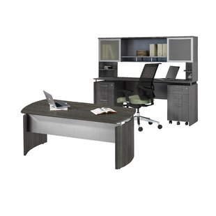 Reviews Medina Series 3-Piece Standard Desk Office Suite ByMayline Group