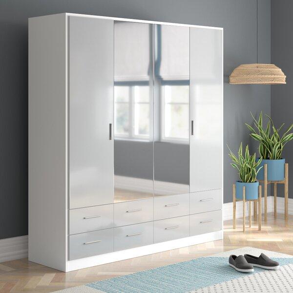 Light Grey Wardrobes Wayfair Co Uk
