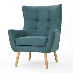 Barone Mid Century Fabric Club Chair George Oliver