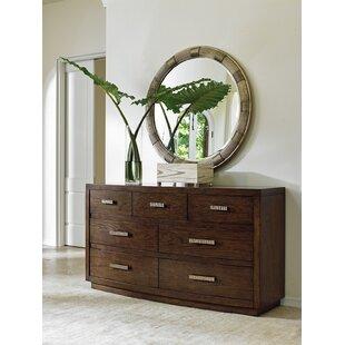 Laurel Canyon 7 Drawer Dresser with Mirror