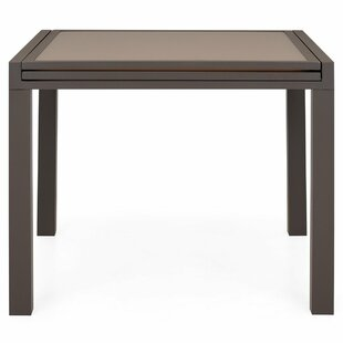 Derwood Extendable Aluminium Dining Table By Sol 72 Outdoor