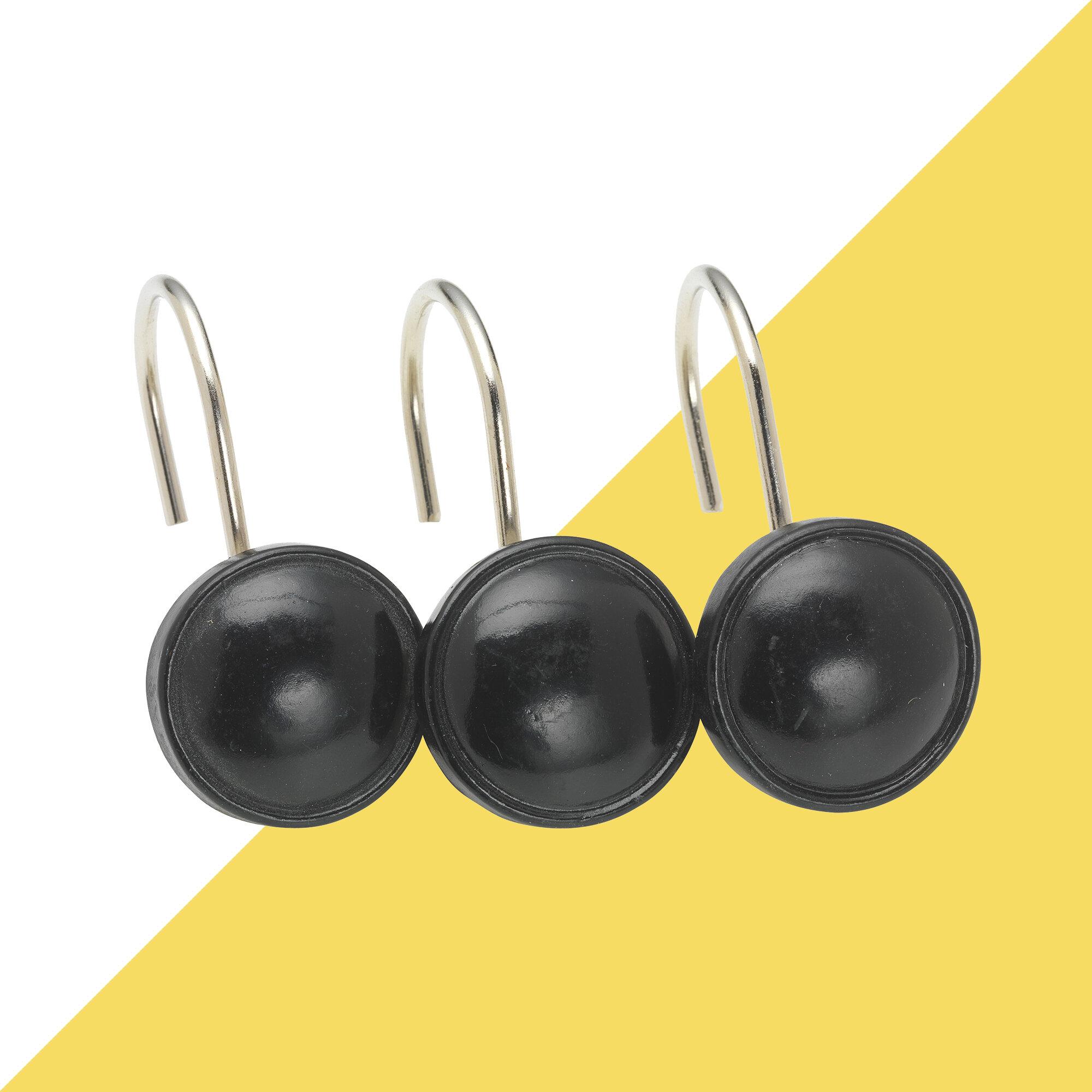 Calahan Button Shower Hooks
