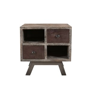 Brundidge End Table with Storage by Foundry Select