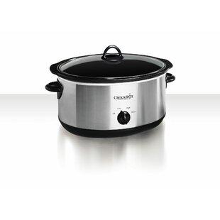 8-Quart Manual Slow Cooker