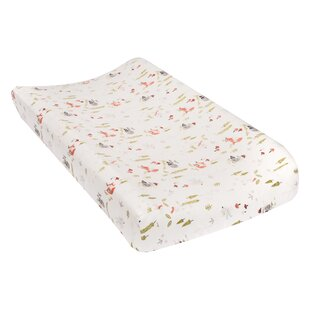 Great Price Vieira Deluxe Flannel Changing Pad Cover By Harriet Bee