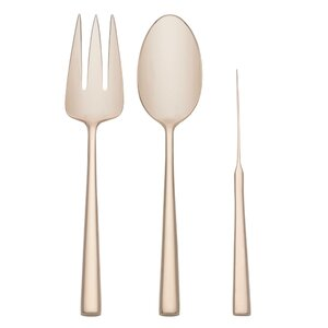 Malmo Gold 3 Piece Serving Set