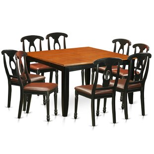 Pilning Modern 9 Piece Wood Dining Set August Grove