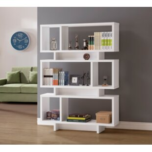 Reviews Halverson Standard Bookcase By Orren Ellis