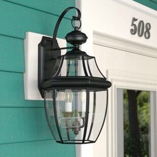 Mellen 2-Light Outdoor Wall Lantern By Three Posts Outdoor Lighting