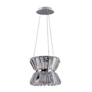 Allegri by Kalco Lighting Armanno 1-Light Crystal Pendant