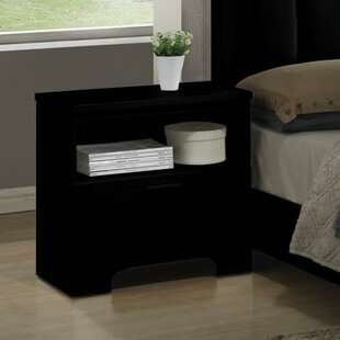 Moderno 1 Drawer Nightstand by Wildon Home®