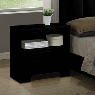 Moderno 1 Drawer Nightstand by Wildon Home®