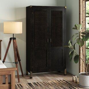 Phelps 2 Door Wardrobe By Bay Isle Home