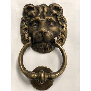 Brasso Lion Head Door Knocker