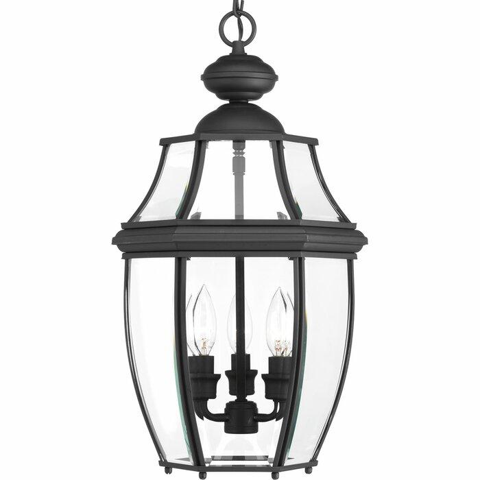 Dunmore 3 Light Outdoor Hanging Lantern