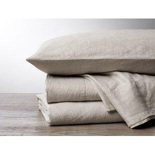 Coyuchi Organic Relaxed Linen Sheet Set (Set of 4)