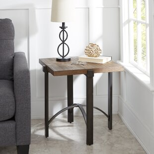 Ivy Bronx Baratta Distressed End Table