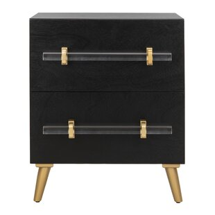 Morecambe 2 Drawer Nightstand by Everly Quinn