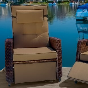 Foye Wicker Recliner (Set of 2)