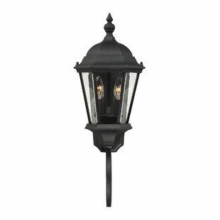 Charlton Home Randel 2-Light Outdoor Sconce
