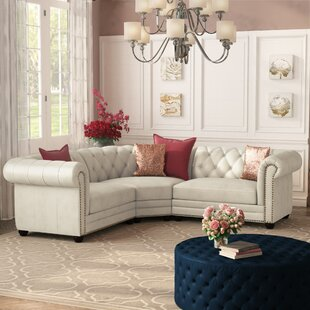 Lizete Leather Sectional