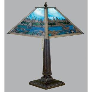 Fly Fishing Creek 21.5 Table Lamp
